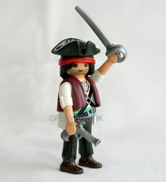 PLAYMOBIL PIRATE - jack sparrow - pirates des caraïbes
