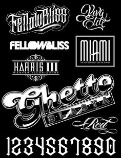 Ghetto type by Sweyda