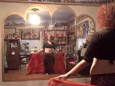 Yasmina's Weekly Belly Dance Lesson - lesson 1, veil