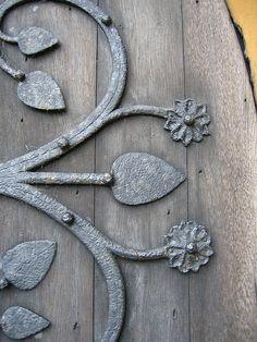Door Hinge Detail