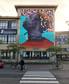 Eversiempre - Street Art Oostende - Street Art Cities #eversiempre #oostende #streetart #thecrystalship #streetartoostende #streetartbelgium #streetartcities