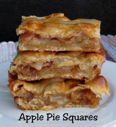 Apple Pie Squares by The Ranch Wife Chronicles