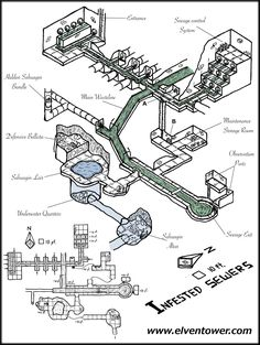 Map 38 – Infested Sewers