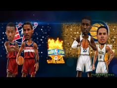 ▶ NBA Playoffs - Washington Wizards vs Indiana Pacers - Game 2 - NBA JAM: OFE - HD - YouTube--  #ProBasketball_IndianaPacers
