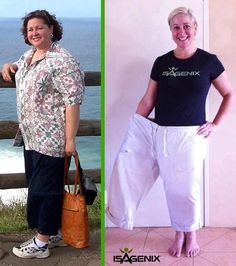We see results like this everyday!! I would love to help you take your before  after pictures - message or call me for a free no obligation consultation to see if Isagenix systems could work for you too!!