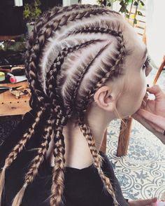 Cornrows Hair styled by Sienree