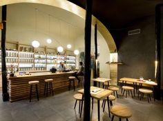 Modern Cave Cafes : tea mountain