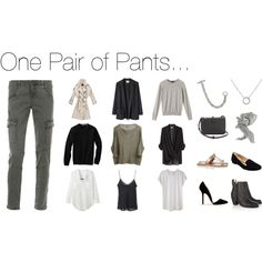 """""""One Pair of Pants"""" by stractstyle on Polyvore"""