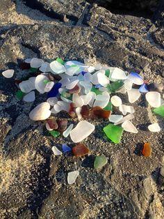 Beach Glass July 2013