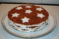 Torta Pan di Stelle #dolci
