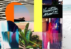 Vacation on mood by Filipa Costa (@filipapjcosta) for Surf Leça (@surflecasurfshop) . January 2017. Please do not remove artist´s name.  #design #contemporaryart #art #surf #lecadapalmeira #surfstyle #tropicalstyle #surfart #decor #patterns #colors #collagedesign #collage