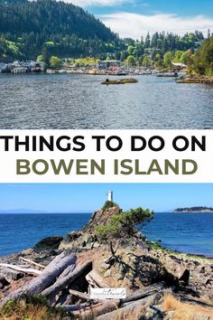 Enjoy a fun family day trip to a bucolic island just 20 minutes from Vancouver with our guide to the many things to do on Bowen Island, British Columbia. Columbia Travel, Canada Travel, British Columbia, West Coast Cities, Bowen Island, Vancouver Travel, Best Family Vacations, Family Day, Day Trip