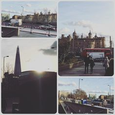 A collage of photos from around #TowerHill #tube station showing the surroundings amongst them the Chapel Royal of the Saint Peter Ad Vincula.  #london #TowerBridge #toweroflondon #londonunderground #underground by arunfoot