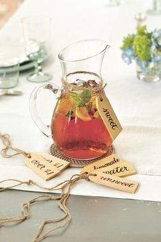 Southern Living Set of 6 Beverage Tags - now available at ballarddesigns.com