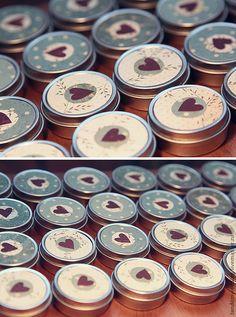 Свадебные аксессуары ручной работы. Ярмарка Мастеров - ручная работа Жестяные коробочки-бонбоньерки. Handmade.