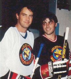 I love these two even more now!! #hockeylovers