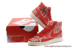 Mid Suede Vintage Beige / Chinese Rosso 371765-102 Nike Wmns Blazer Donna palloni da calcio