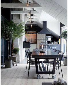 Kitchen inspiration. Håll käften snyggt. Pic: Pinterest  #notmypic  #fintkrafs#inspiration#kitchen#homedecor#interiordesign#interior#inredning