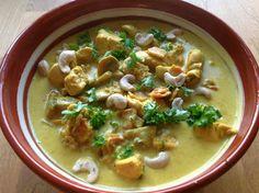 Under vårt tak: Kycklinggryta med curry!