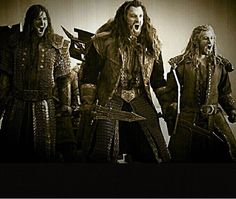 The Durin line charges: