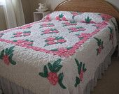 Beautiful Plush Vintage Chenille Bedspread