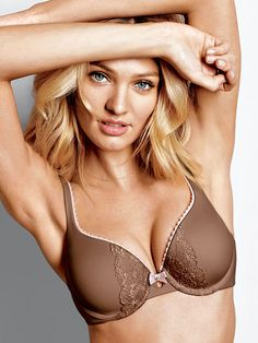 bb8cec430325d Worn by   Angel Candice Swanepoel Type   Body by Victoria Perfect Shape Bra  Color   Mocha. Victoria s Secret Collections