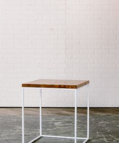 Shop Maggpie, Handmade In Philadelphia, Hugh Side Table, Modern Furniture,  For Sale