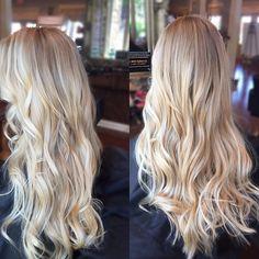 Blonde bombshell 🌞 #llsalons #lorealprous #balayage