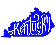 Kentucky Vinyl Decal