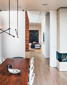 Modern renovation in San Francisco with Stix chandelier by Nido Living