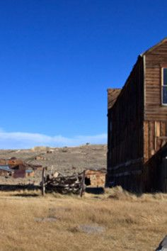 This #ghost #town has been blamed with cursing countless #tourists. It still receives a steady supply of mail despite being untouched for a century.....a town frozen in time. Bodie Historic Park Lee Vining, CA 93541 US