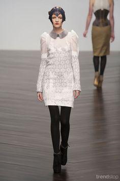 Bora Aksu puff sleeve dress