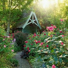 I want to build this garden structure. #CottageGarden