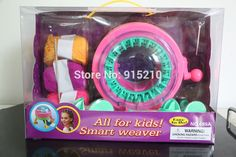 48.45$  Watch now - http://alibcx.shopchina.info/go.php?t=32745241309 - Hot  Smart weaver Circular Knitting Machine educational plastic toy ,make your own fashion design,all for kids 48.45$ #aliexpressideas