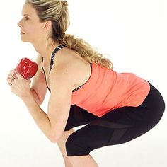Squats are one of the best sculpting moves you can do for your lower body. Take it up a notch by adding a kettlebell and doing a goblet squat instead. | Health.com