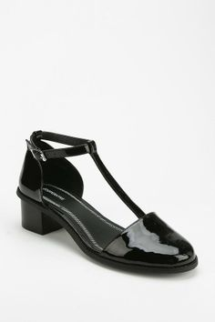 Urban Outfitters Cooperative Patent T-Strap Heel on shopstyle.com