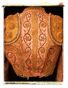 Items similar to Suit of Lights, Antique Matador's Jacket, Spain, x Polaroid Photograph, Travel Photography on Etsy Matador Costume, Spanish Costume, Fancy Dress Ball, Shirt Embroidery, Fantasy Dress, Couture Details, Gold Work, Sewing Basics, Fascinator