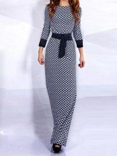 Vestido estampado-(Sheinside)