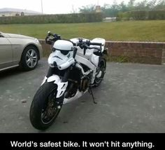 Storm Trooper Motorcycle