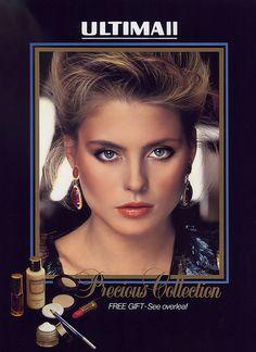 "ULTIMA II ""Precious Collection"" - Australian VOGUE December 1983"