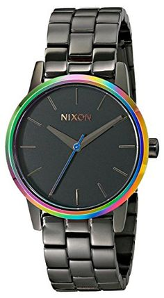 Nixon Womens A3611698 Small Kensington Stainless Steel Watch * Continue to the product at the image link.