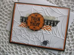 Stampin' Up Handmade Greeting Card Halloween by ConroysCorner, $3.75