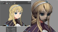 67 Ideas For Hair Drawing Tutorial Female Characters 3d Model Character, Character Modeling, Character Art, Character Design, 3d Modeling, Cartoon Faces, 3d Cartoon, Face Topology, 3d Cell