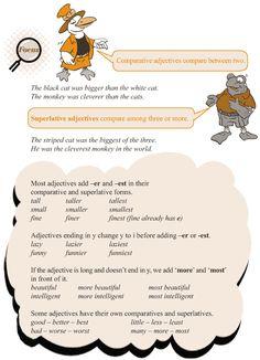 Grade+3+Grammar+Lesson+5+Adjectives++comparison