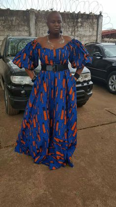 Maxi Dress Passion for African