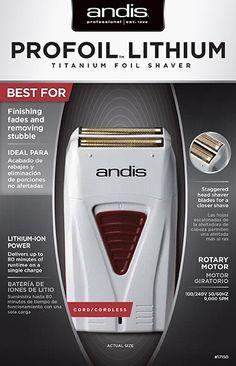 Andis Pro Foil Lithium Shaver