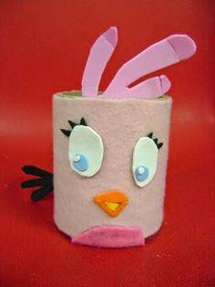angry bird rosa