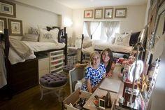 A beautiful TCU dorm room! Dorms Decor, Dorm Decorations, My New Room, My Room, Dorm Design, Design Design, Design Ideas, Dorm Life, College Life