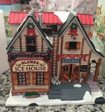 lemax christmas village ice house combined shipping