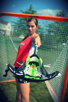 awesome lacrosse shot, goal, lacrosse stick.